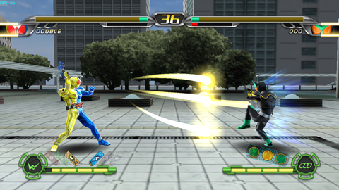 Any level of people can play this fighting game!
