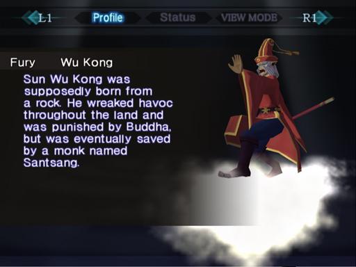 """Fury Wu Kong from """"Saiyuki""""."""