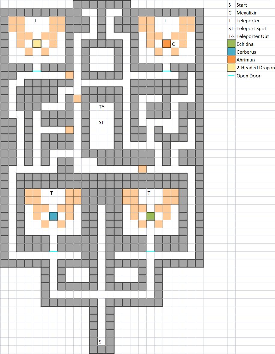 Boss Room of Earthgift Shrine Map