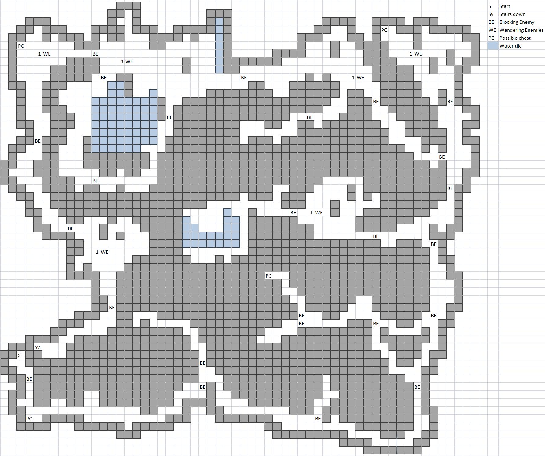Dark Forest Map
