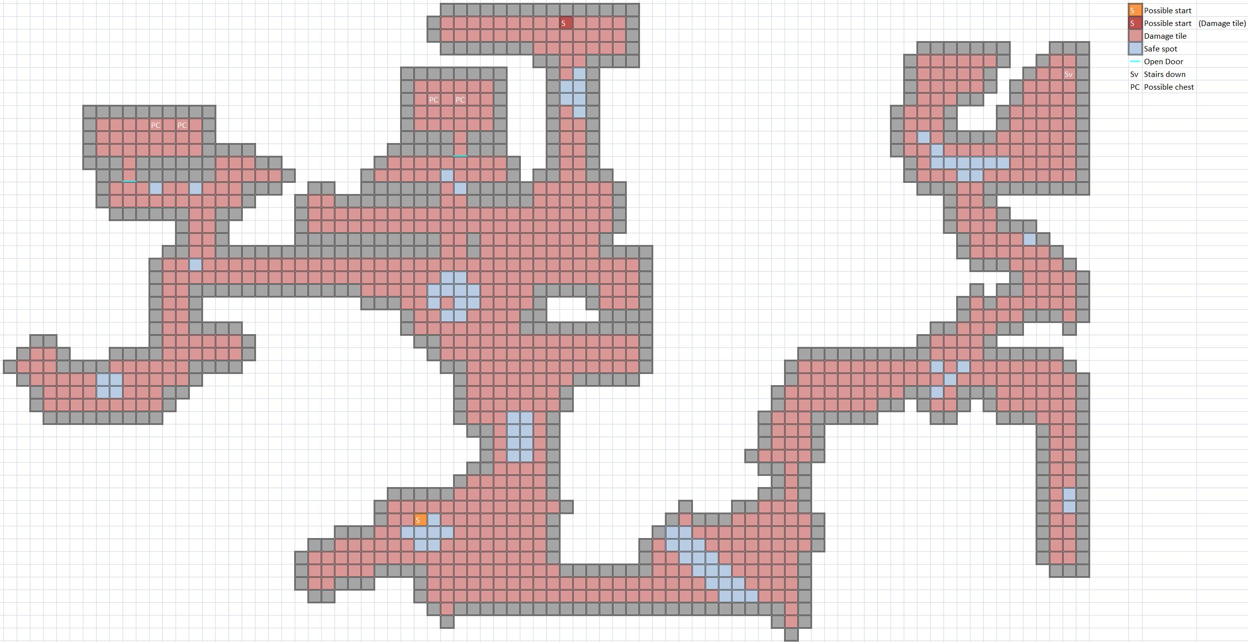 Scalding Bats Map