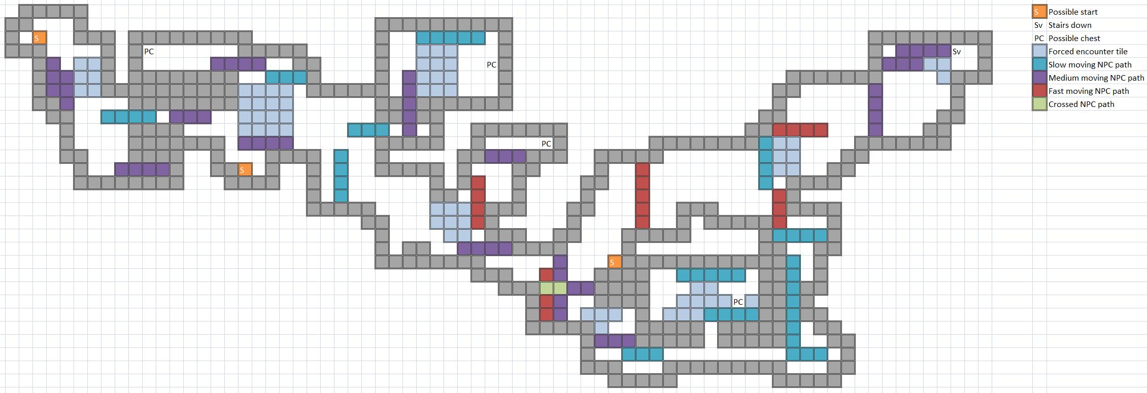 Trespassers Map