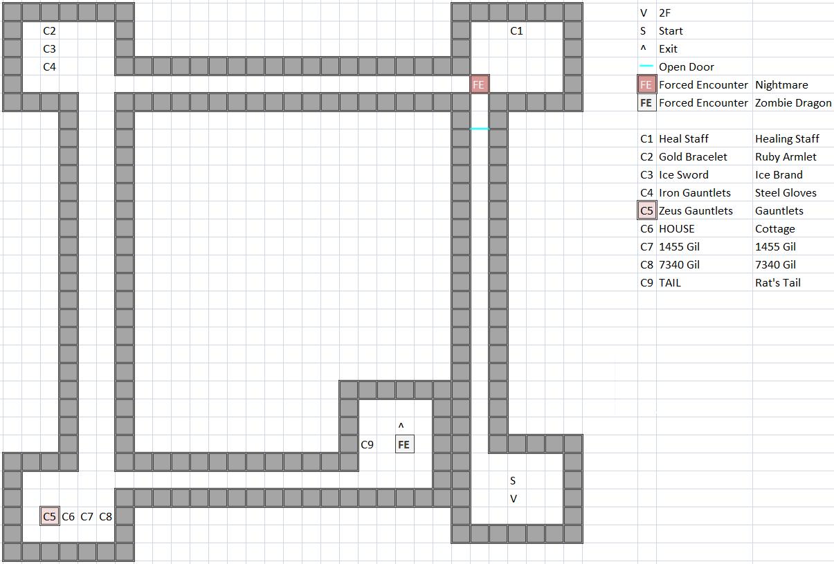 Castle of Ordeals / Citadel of Trials 3F Map
