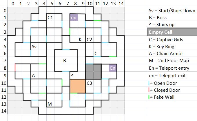 Floor 2 Map