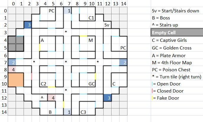 Floor 4 Map