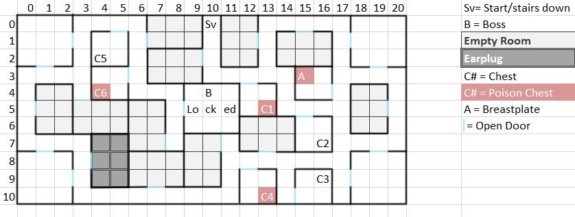 Mansion Floor 2 Map