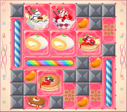 Recommended arrangement for Torim and Aero's Candy Box