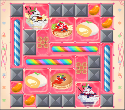 Recommended arrangement for Wanda and Jinga's Candy Box